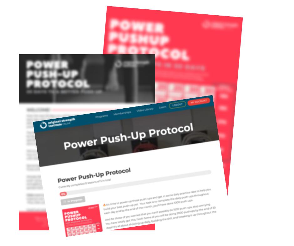 Power Push-Up Protocol