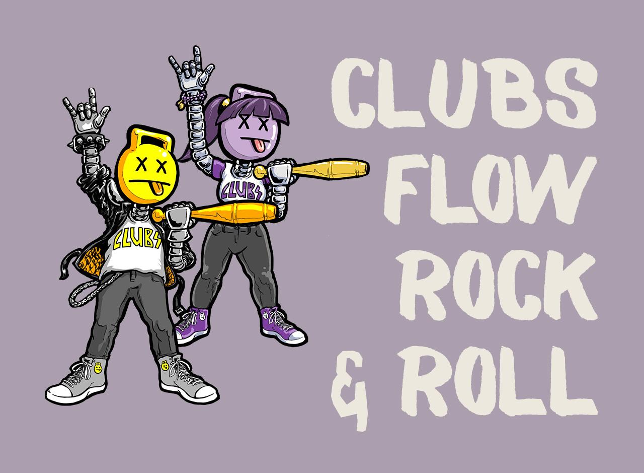Clubs, Flow, Rock & Roll